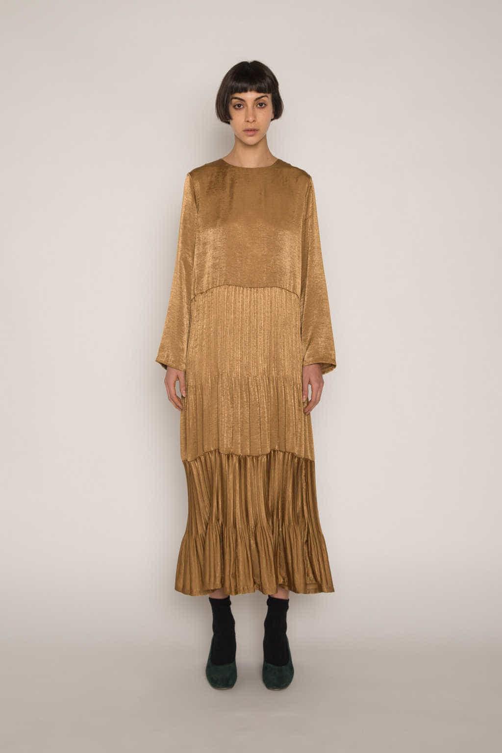 Dress H345 Beige 5