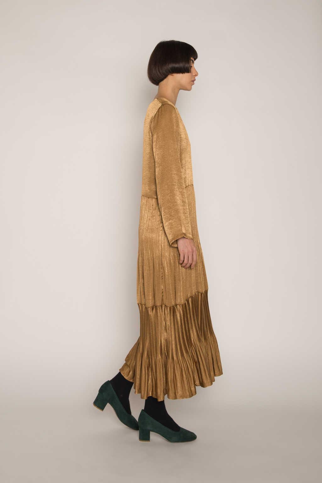 Dress H345 Beige 7