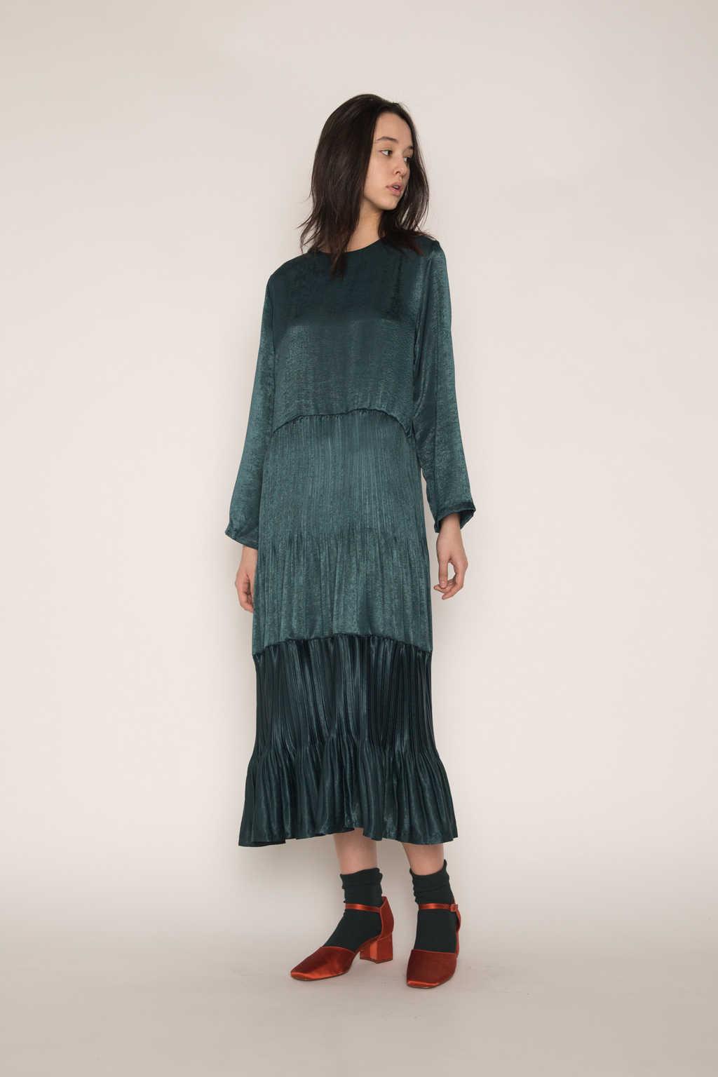 Dress H345 Green 10