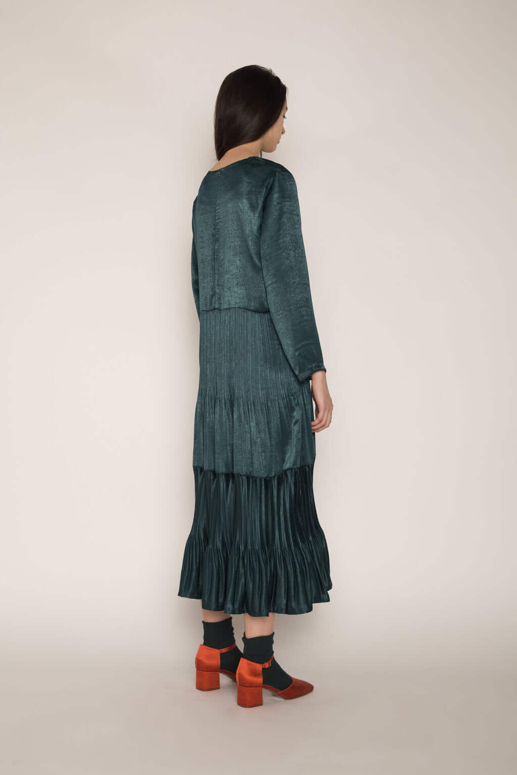 Dress H345 Green 11