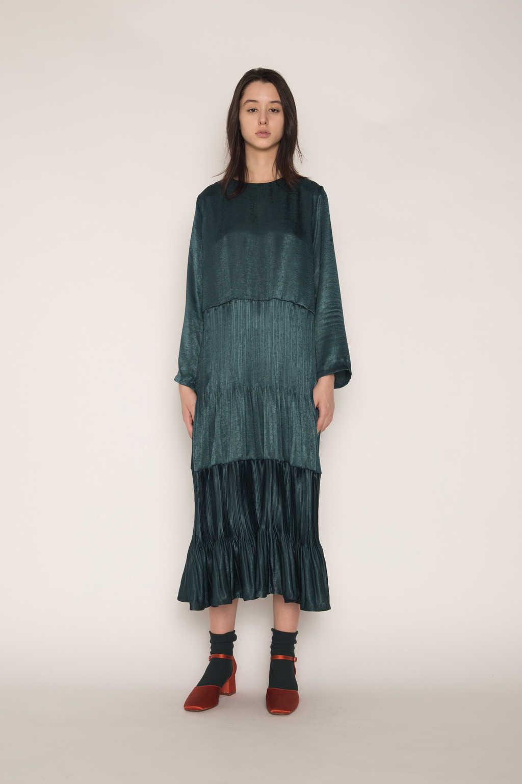 Dress H345 Green 9