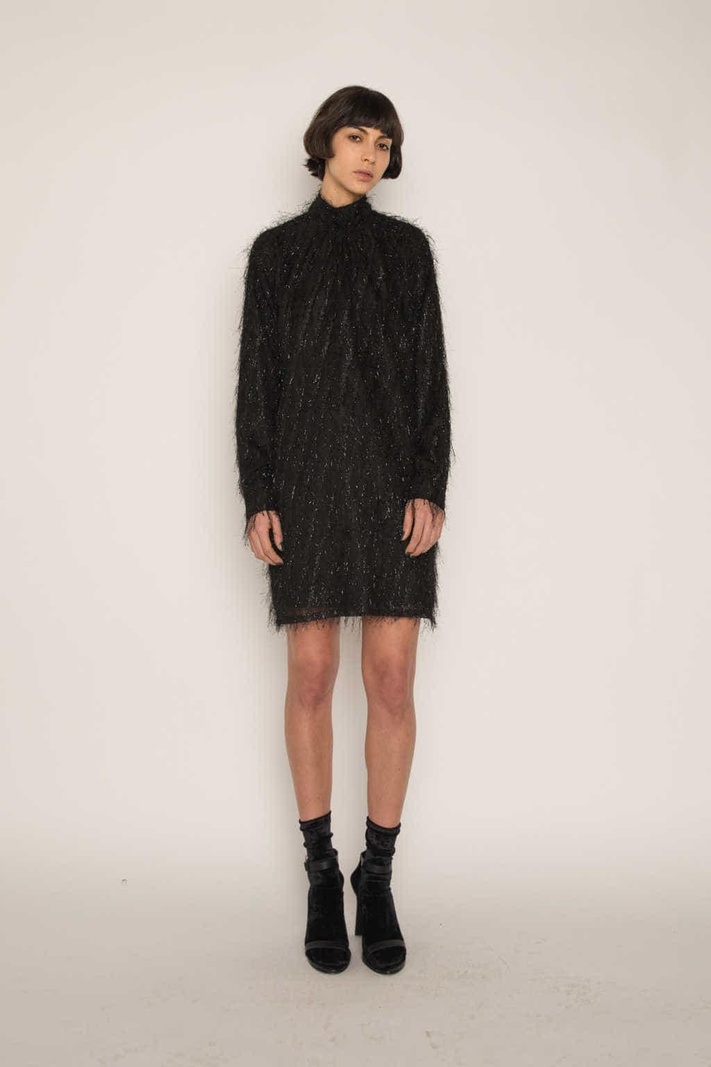Dress H347 Black 2
