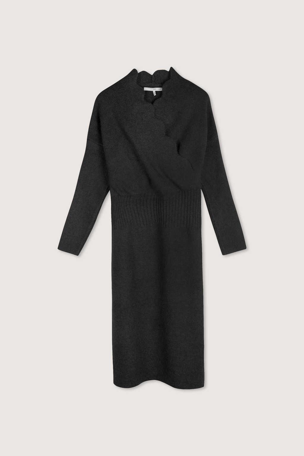 Dress H359 Dark Gray 7