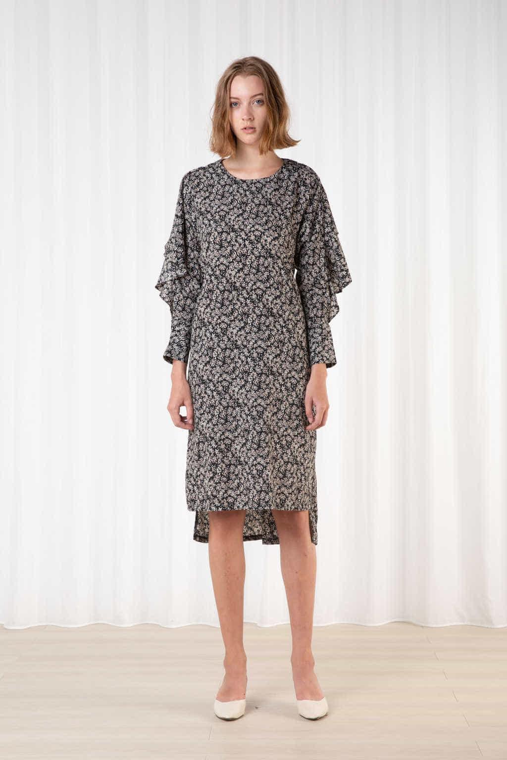 Dress H411 Black 1
