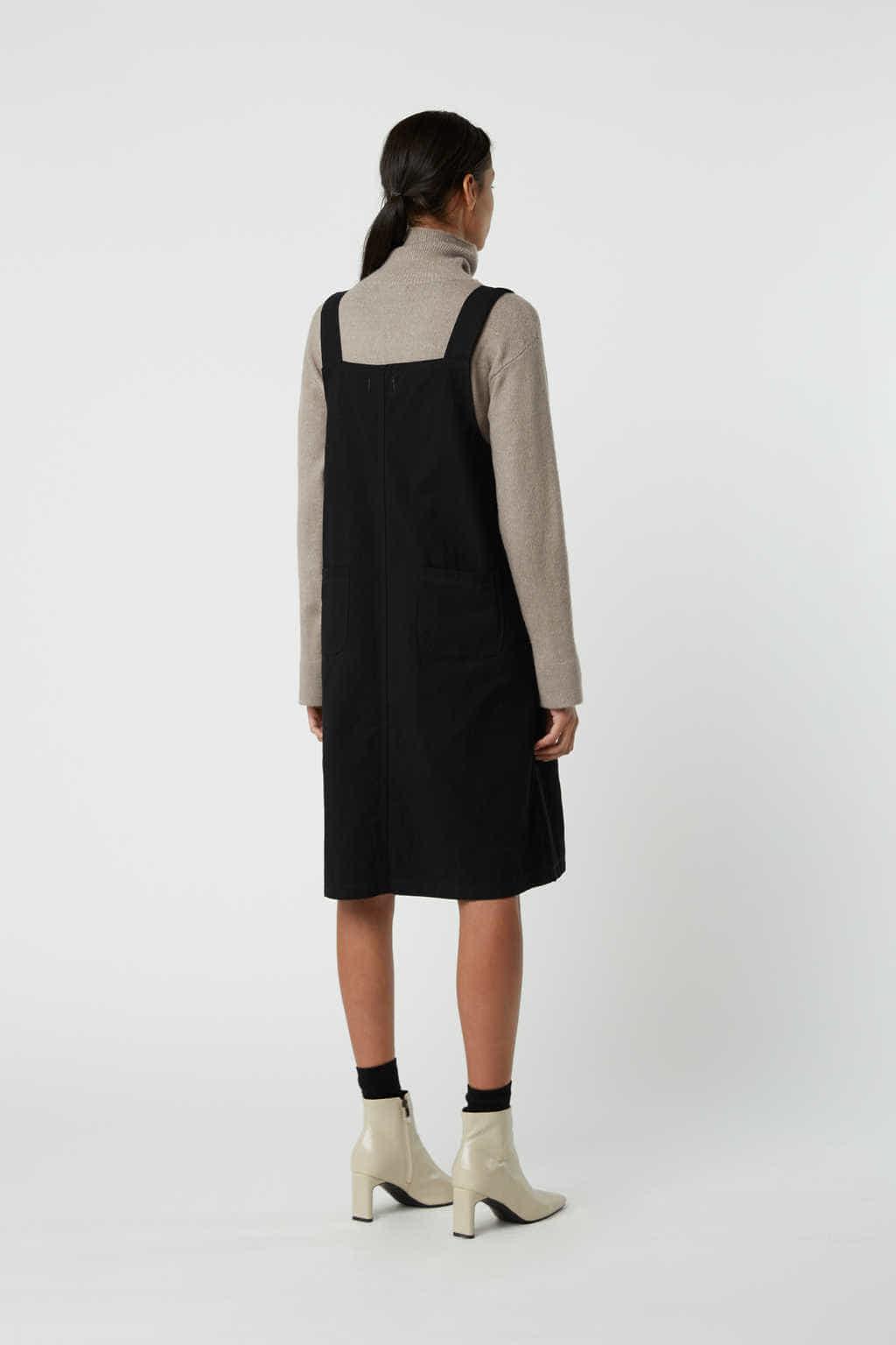 Dress J009 Black 4