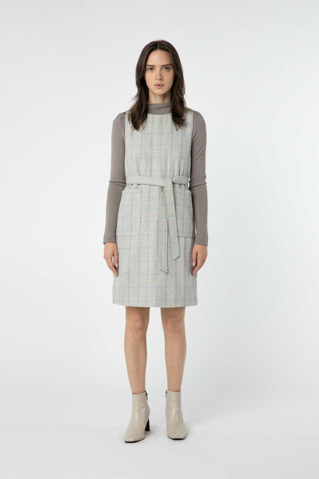 Dress J010 Beige 1