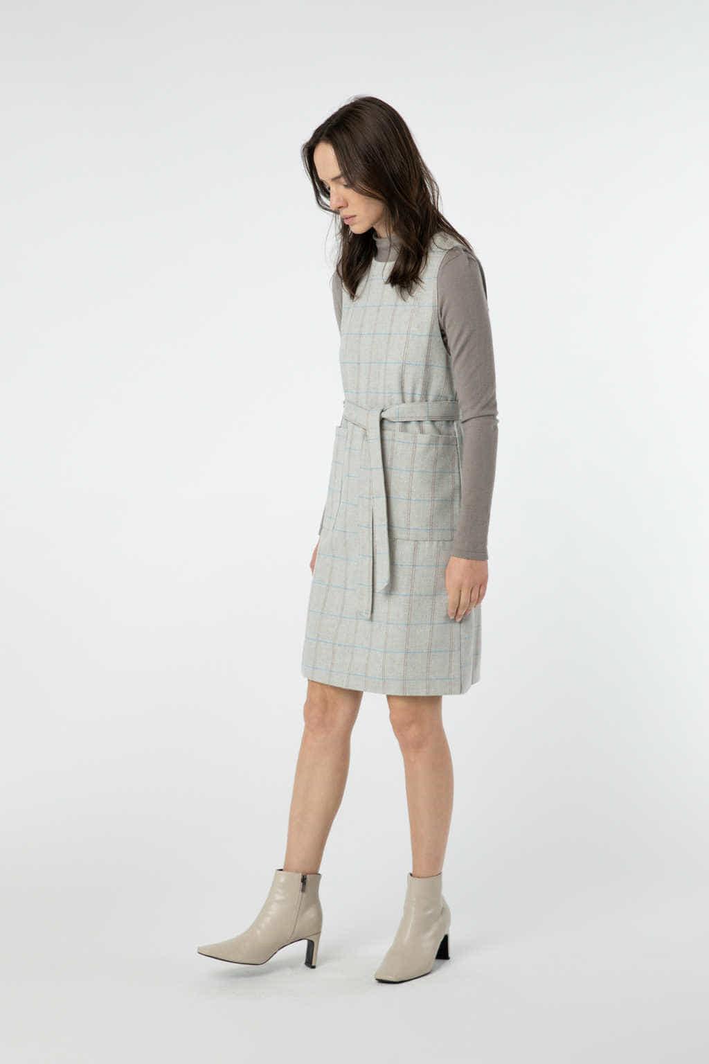 Dress J010 Beige 2