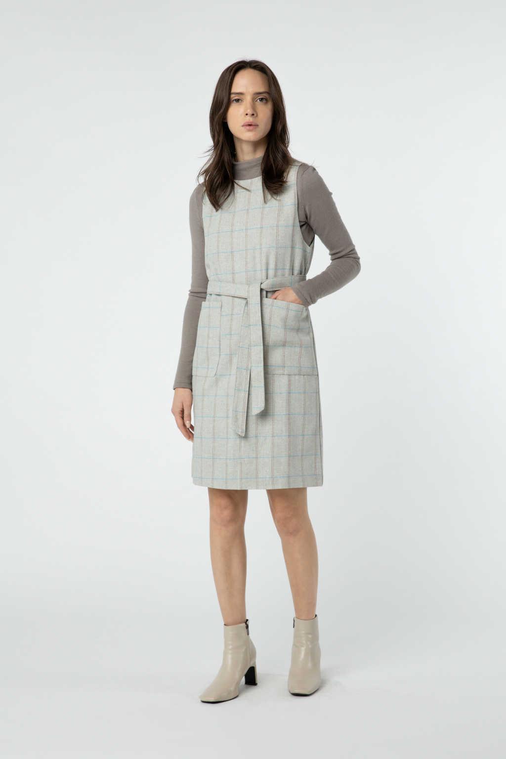 Dress J010 Beige 3