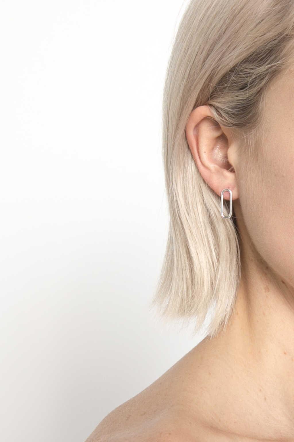 Earring 1582 Silver 1