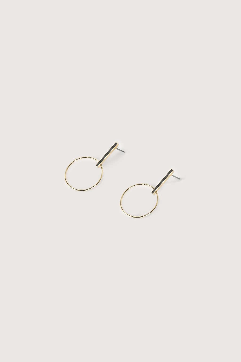 Earring 2055 Gold 1