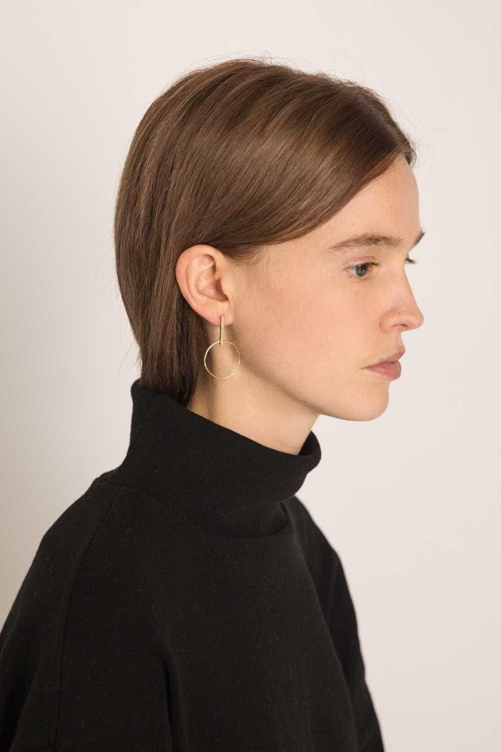Earring 2055 Gold 3