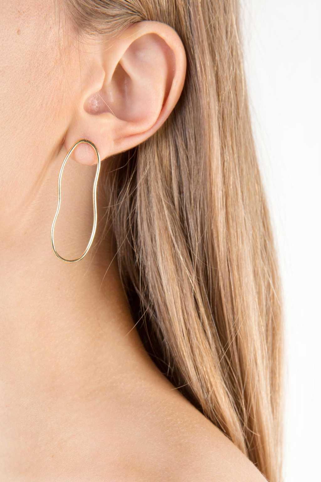 Earring 2341 Gold 3