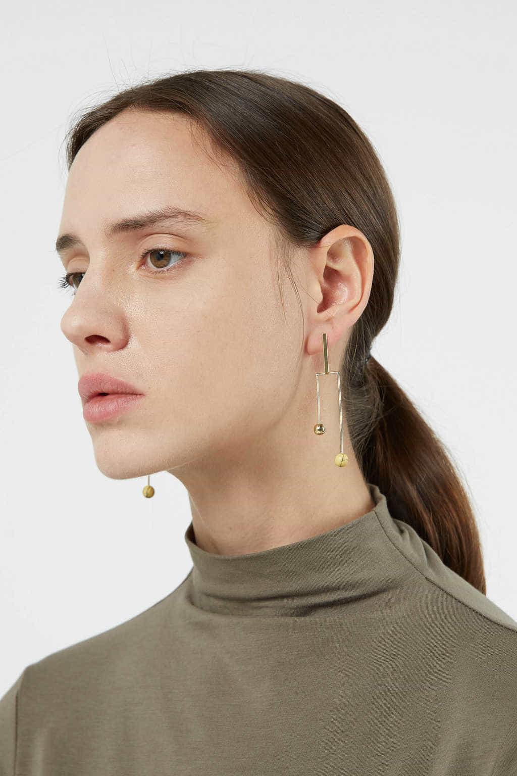 Earring 2748 Gold 2