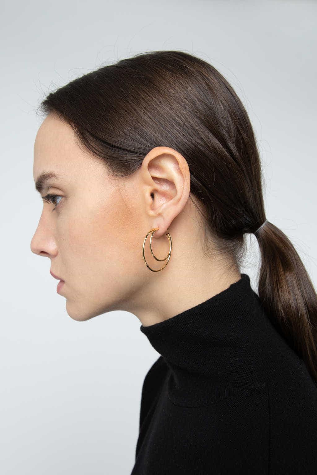 Earring 3091 Gold 3