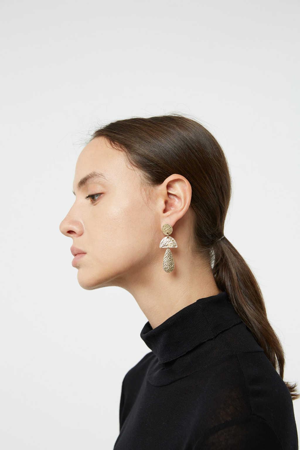 Earring H006 Gold 1