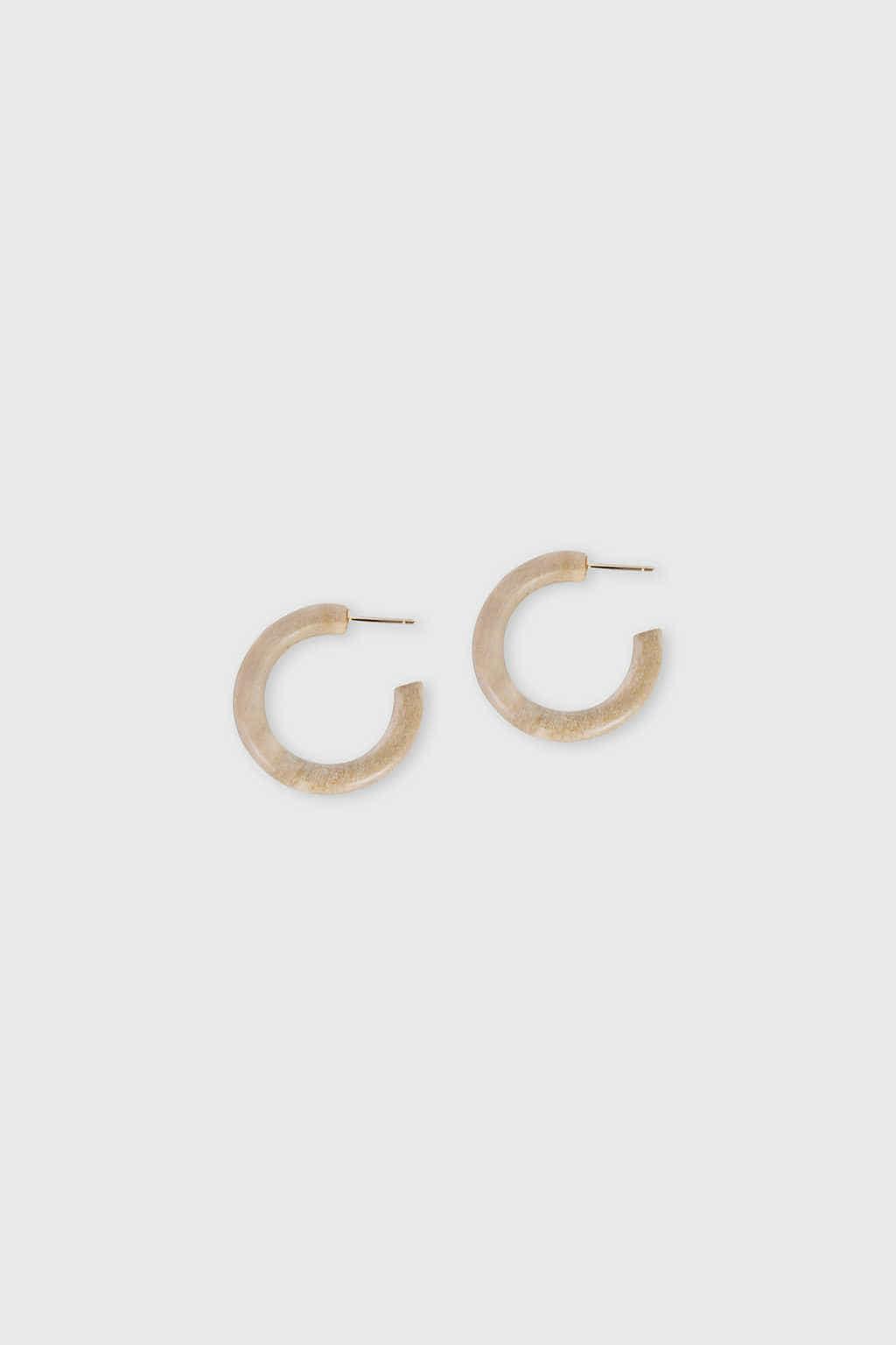 Earring H015 Beige 3