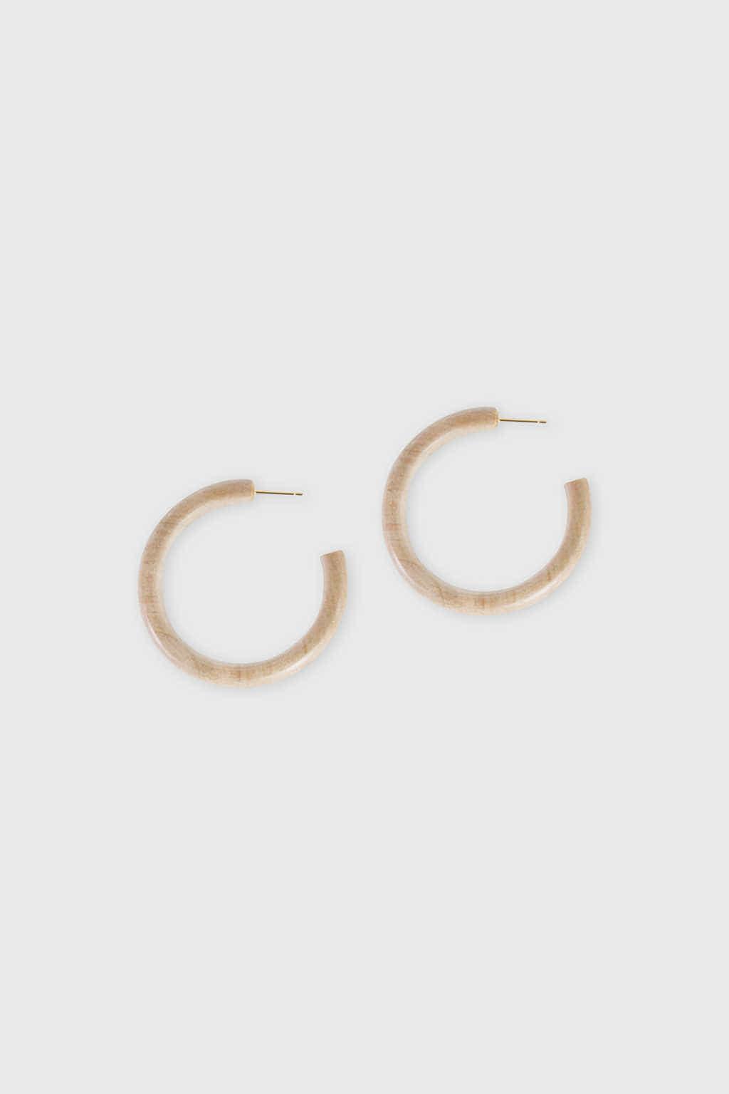 Earring H016 Beige 2