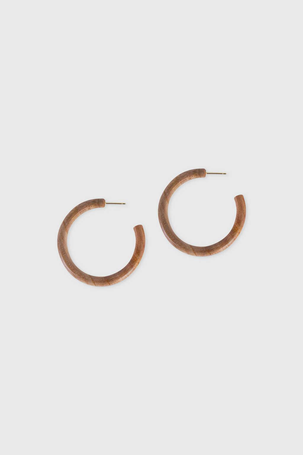 Earring H016 Brown 3
