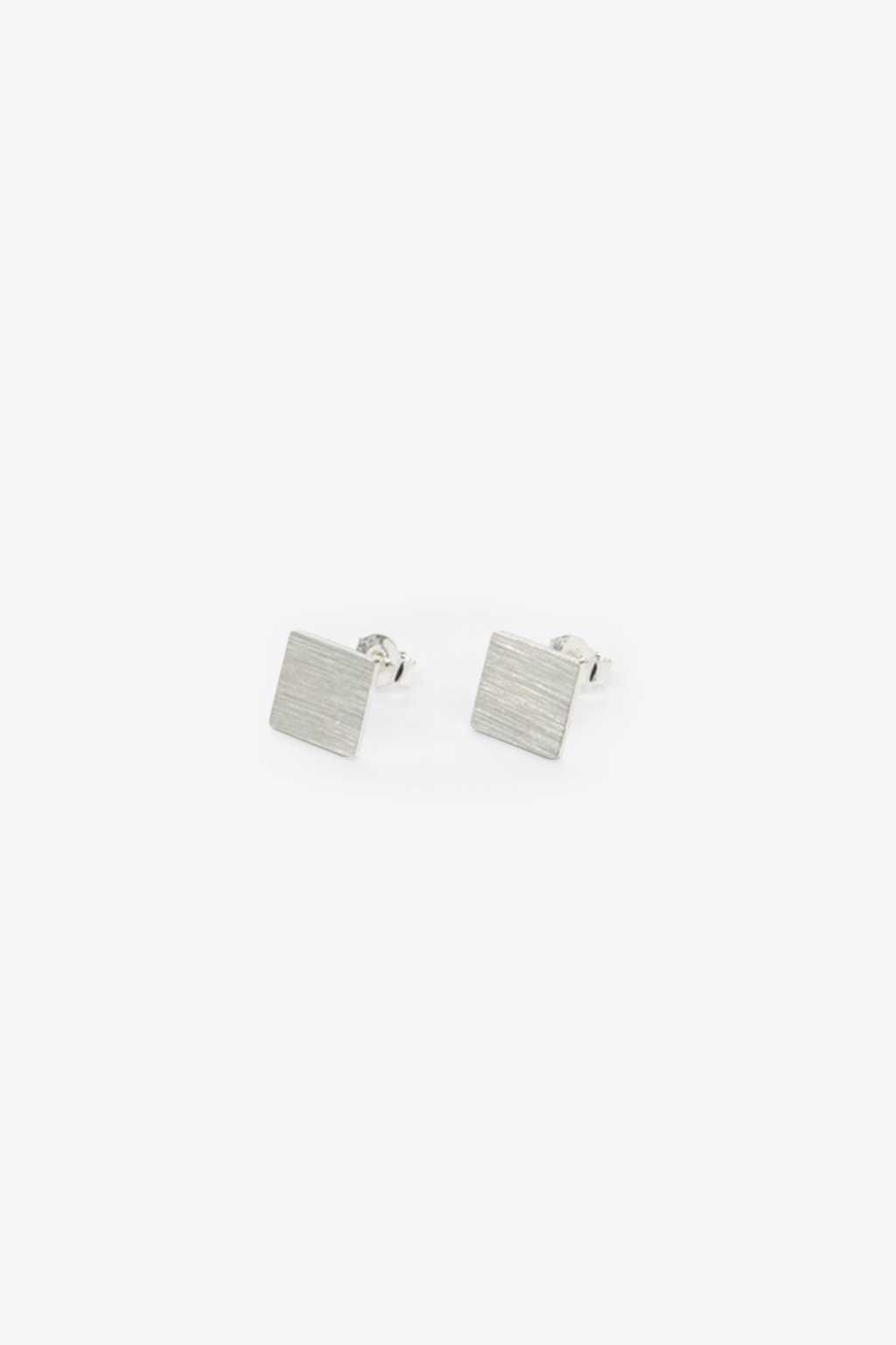 Earring H038 Silver 1