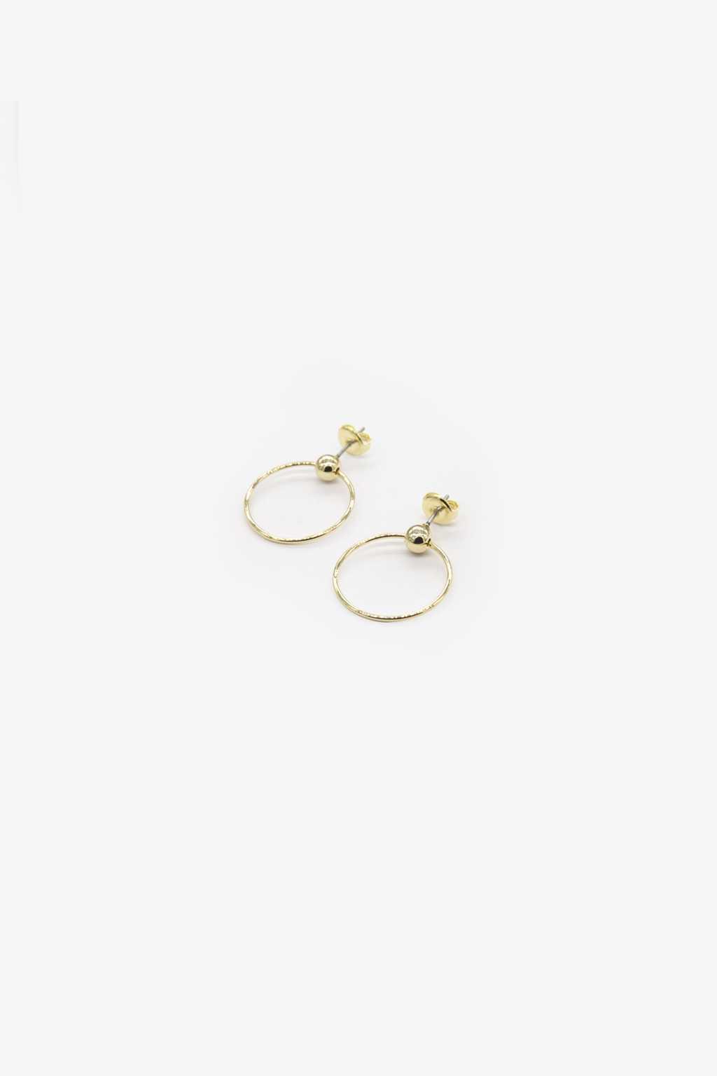 Earring H040 Gold 1
