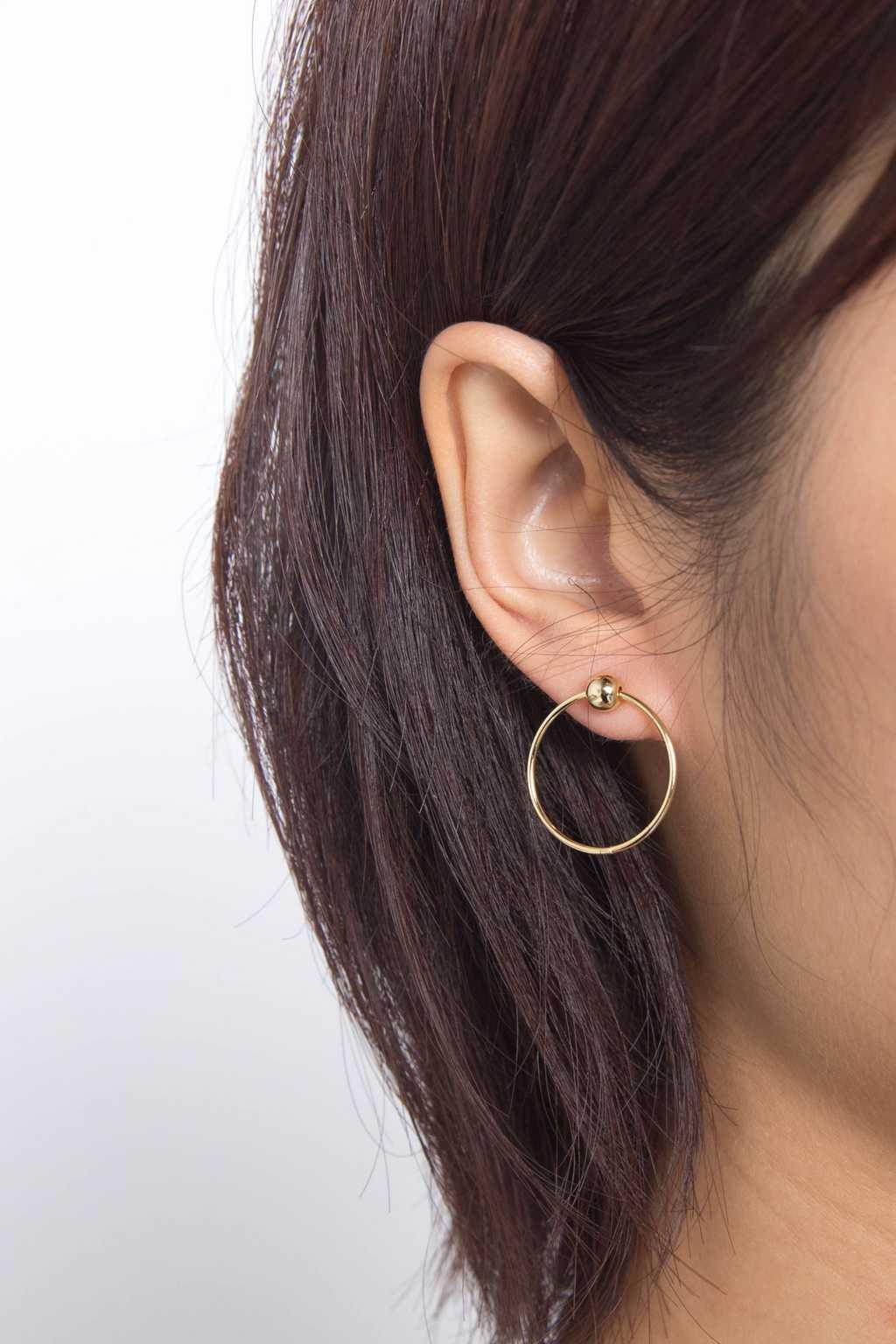 Earring H040 Gold 2