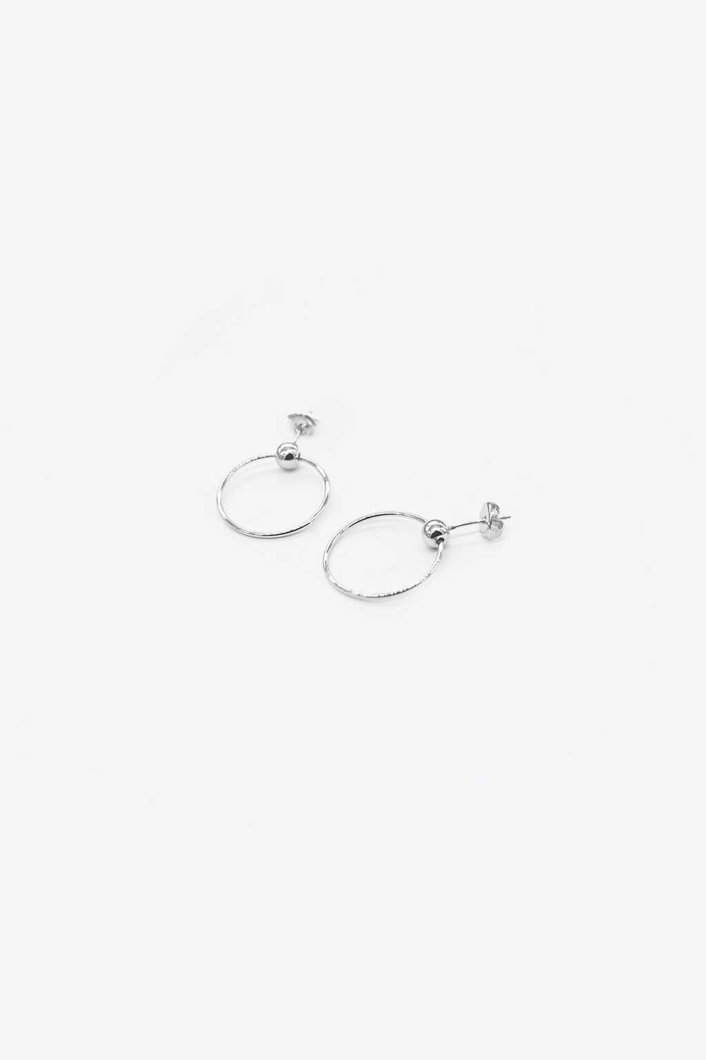 Earring H042 Silver 1