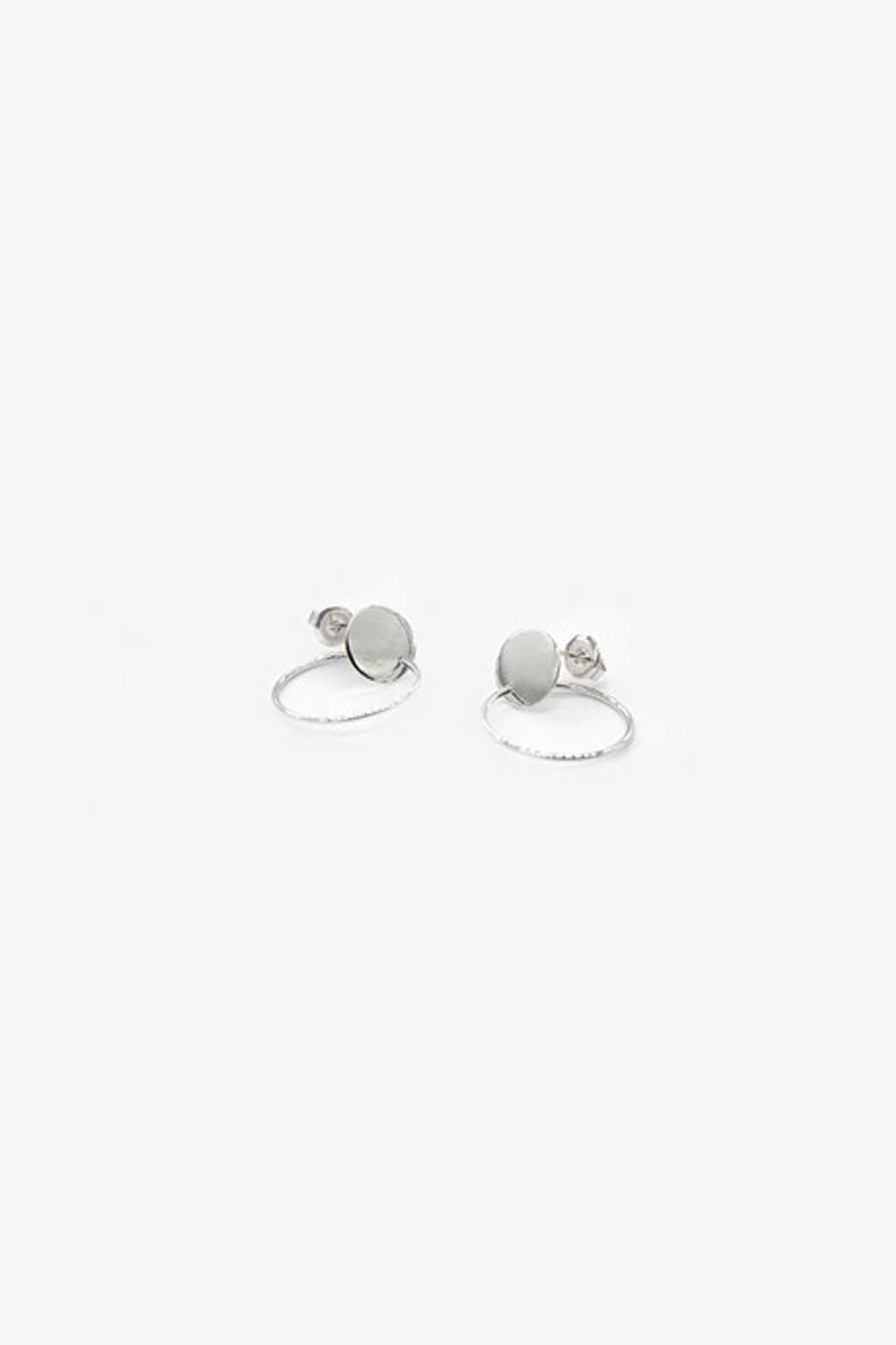 Earring H043 Silver 1