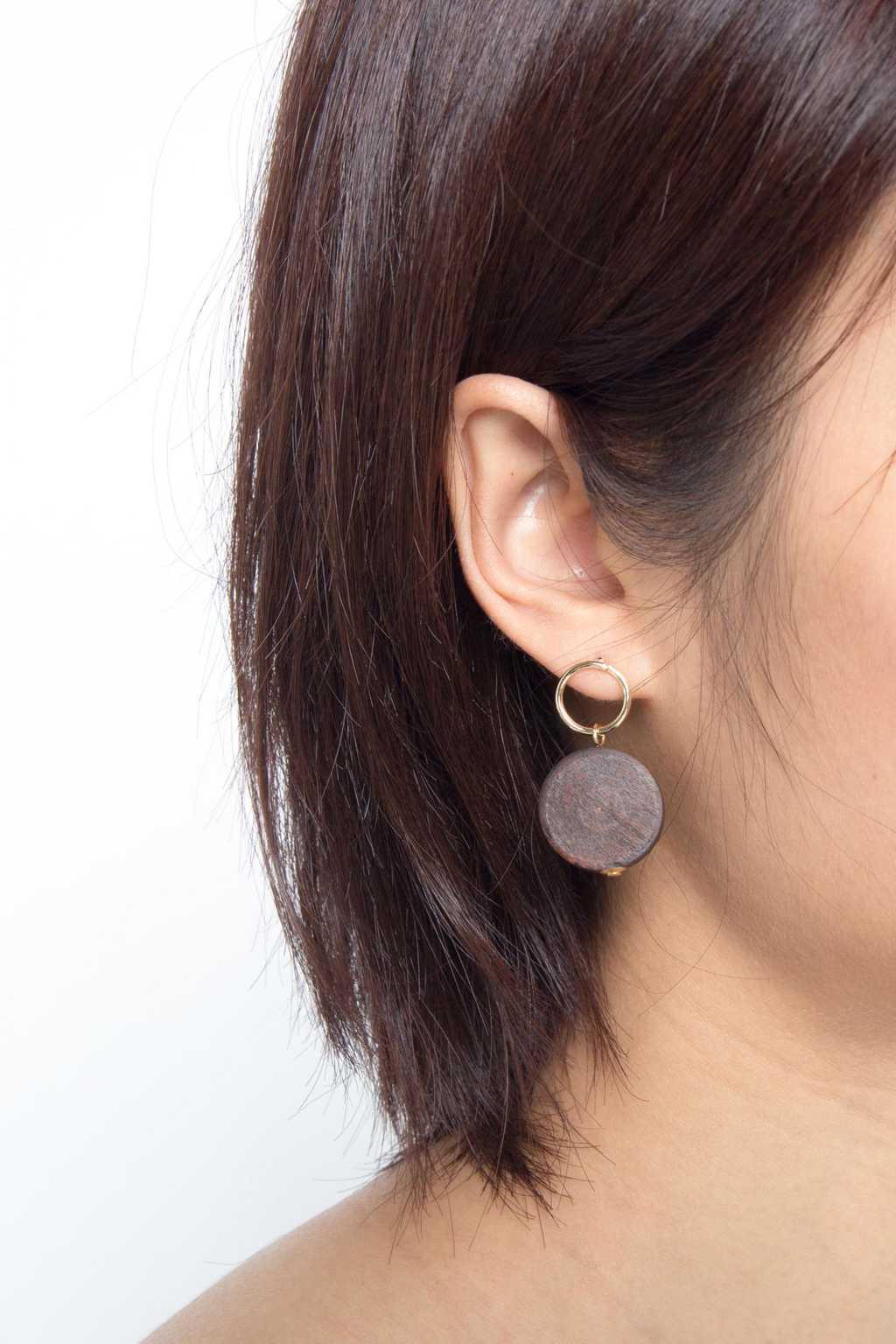 Earring H050 Brown 2