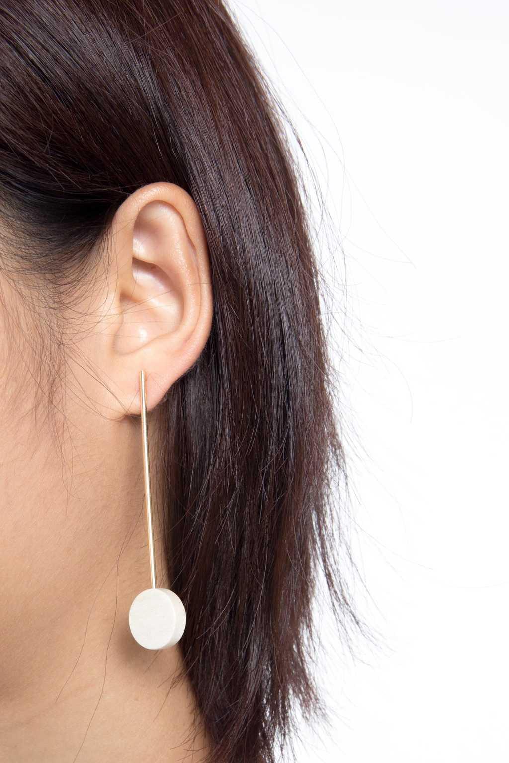 Earring H051 Brown 3