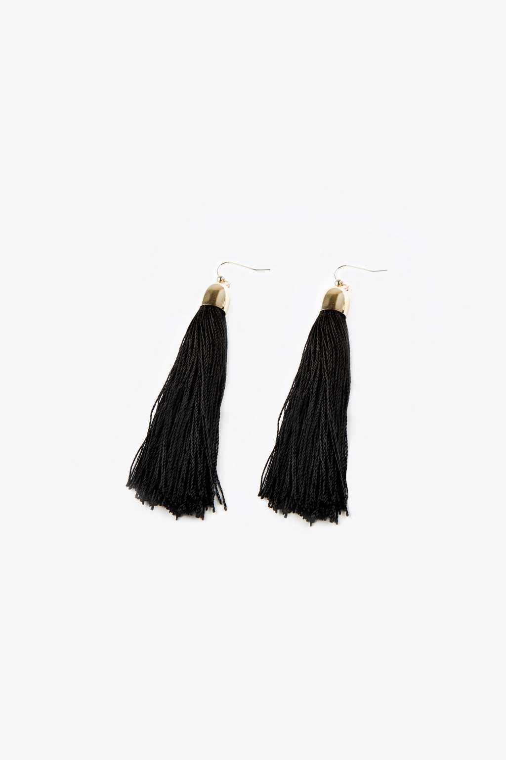 Earring H075 Black 3