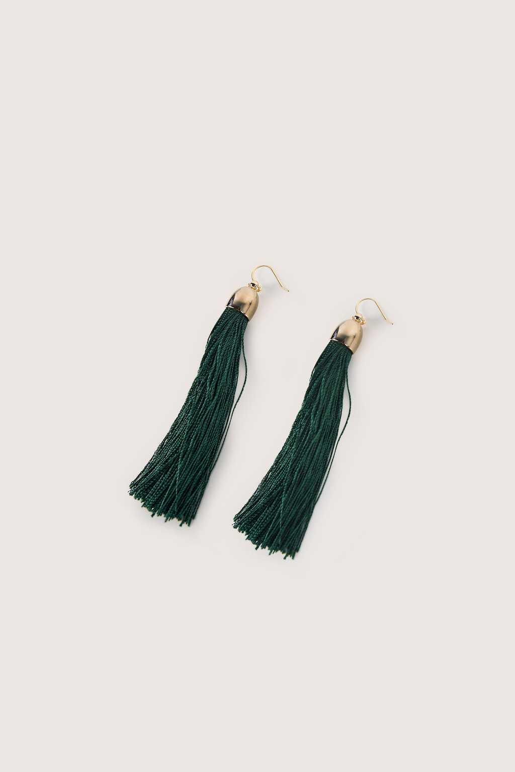 Earring H075 Green 4