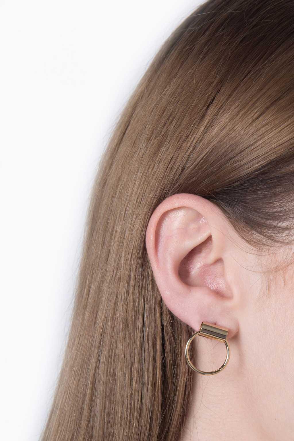 Earring H086 Gold 3