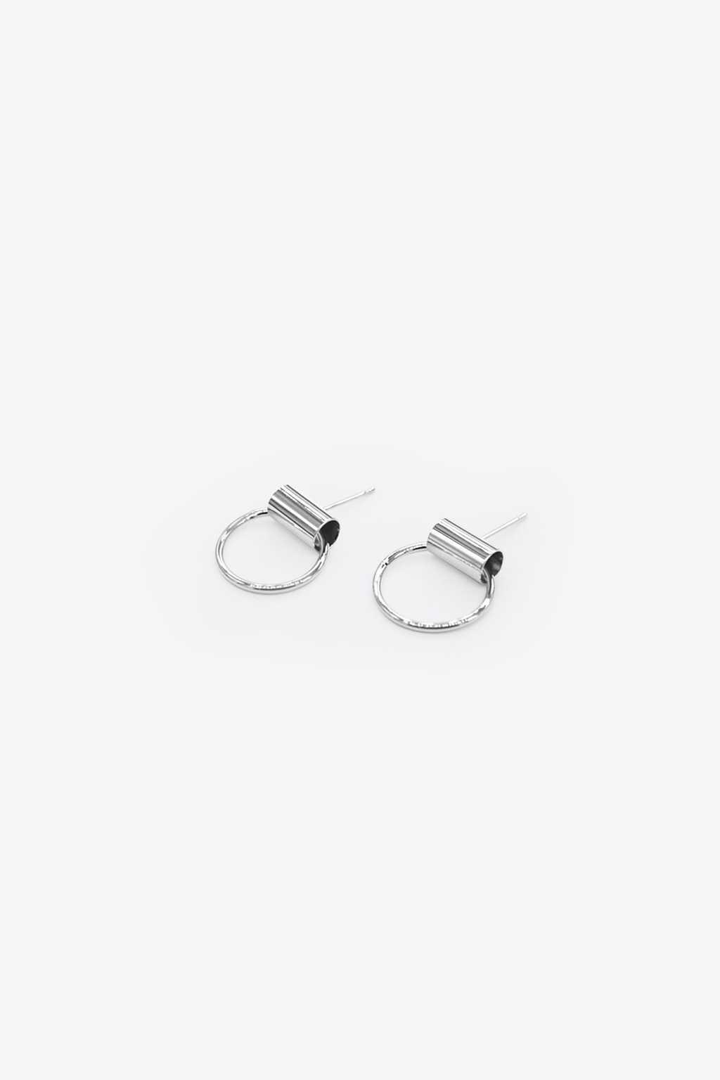 Earring H086 Silver 2