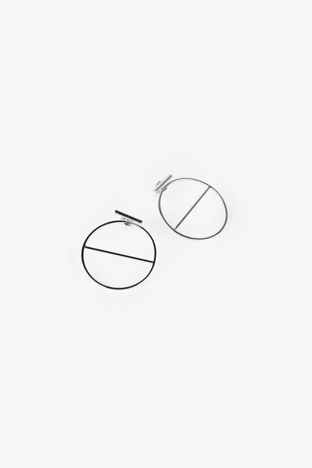 Earring H095 Silver 1