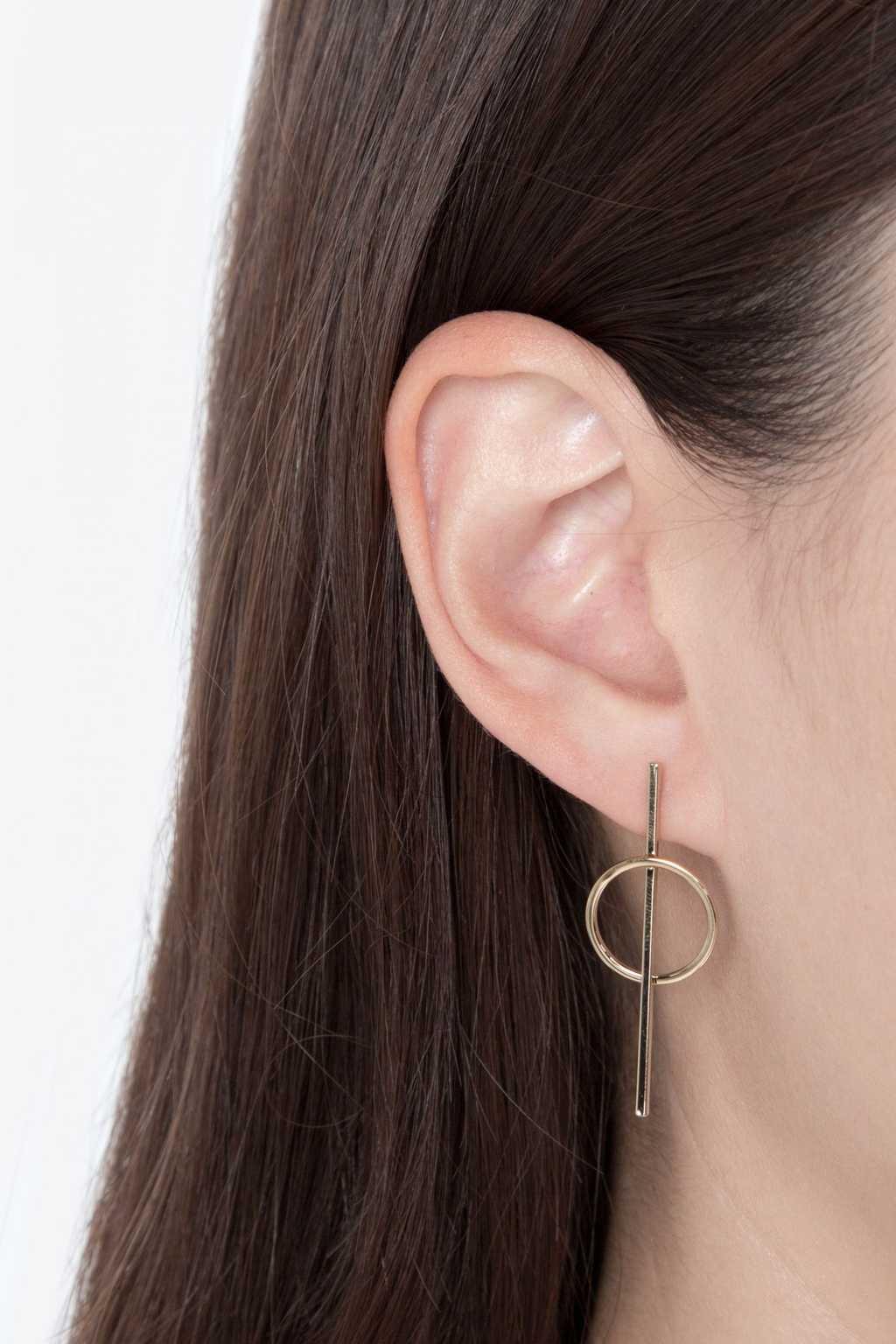 Earring H101 Gold 1