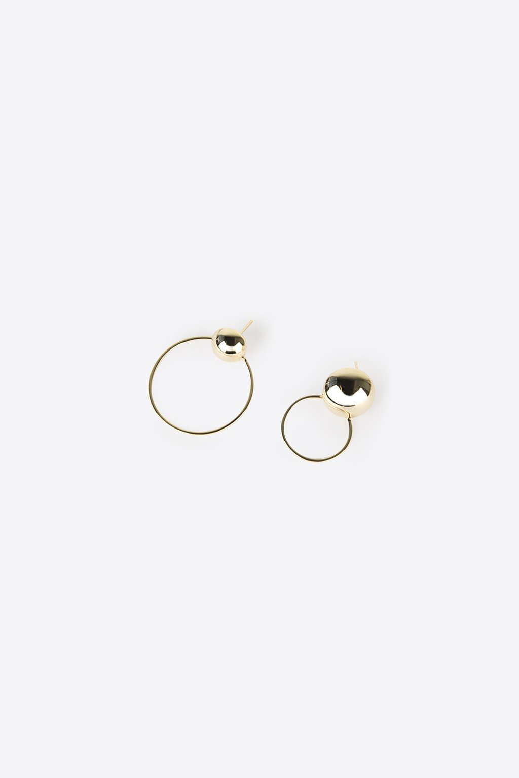 Earring H104 Gold 1
