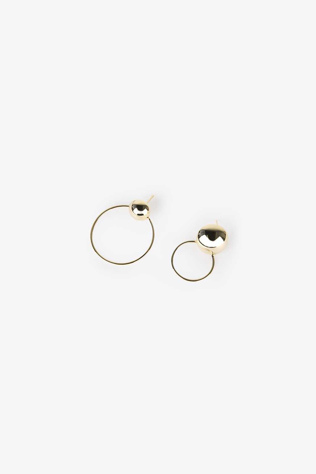 Earring H104 Gold 2