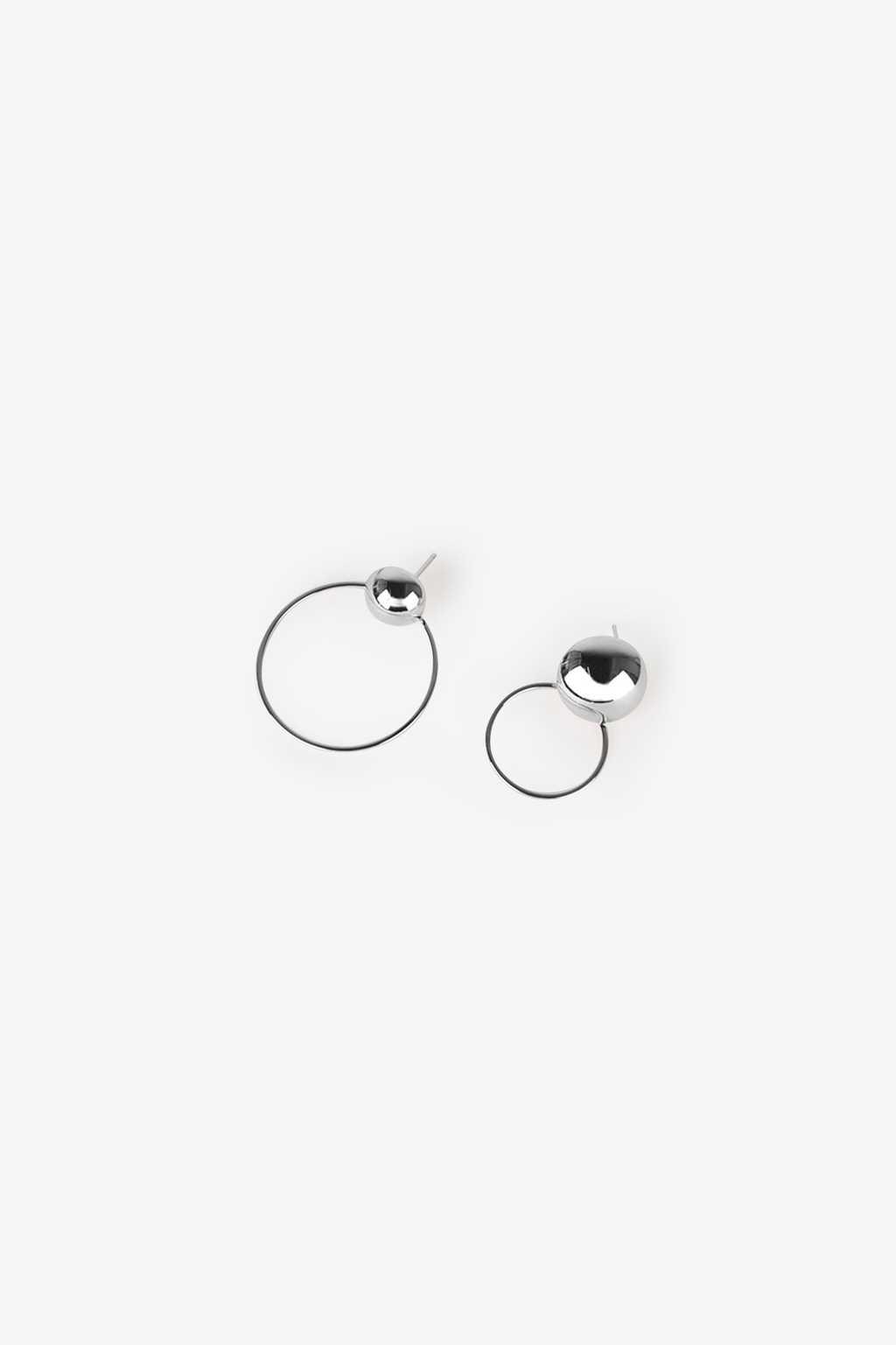 Earring H104 Silver 2