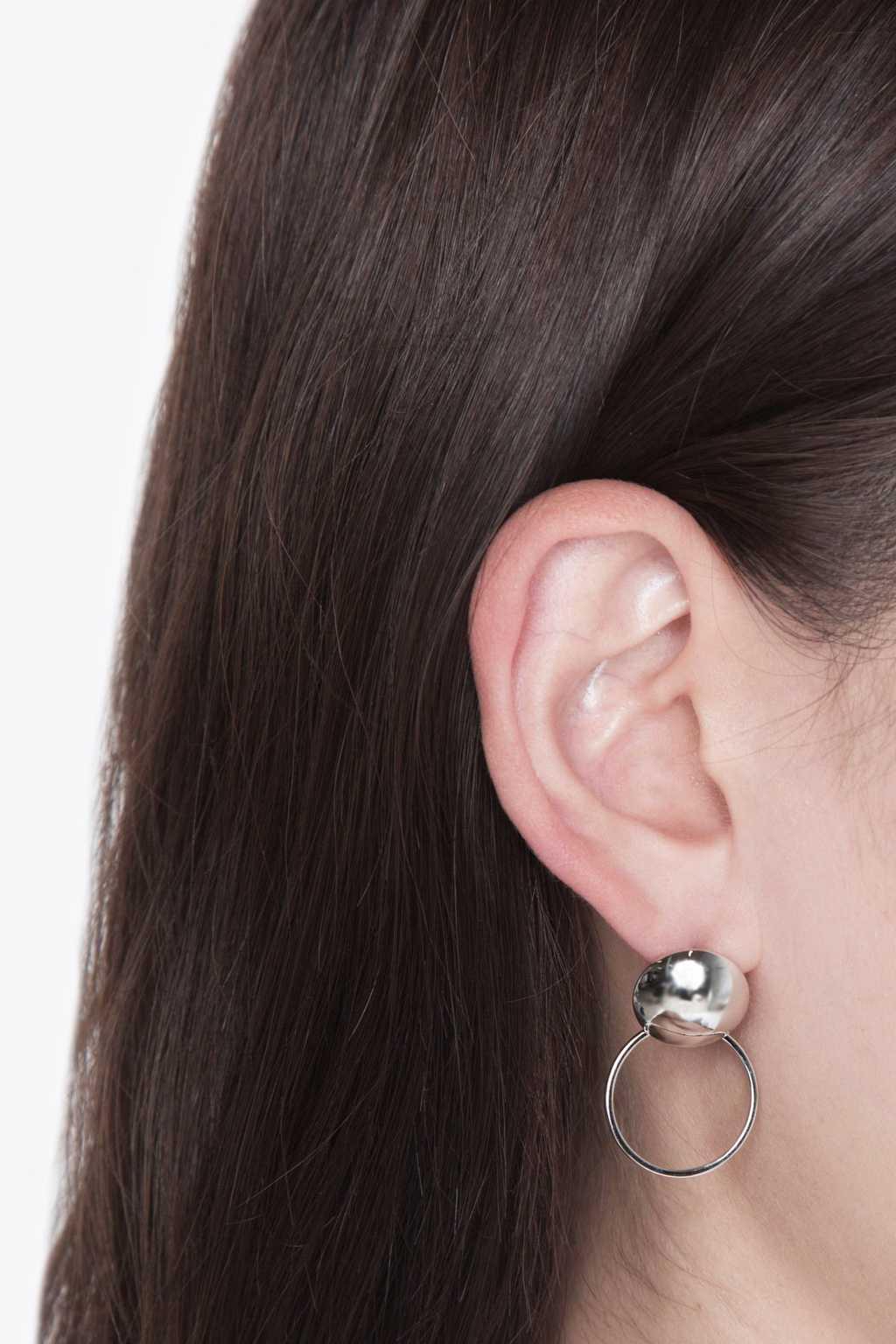 Earring H104 Silver 3