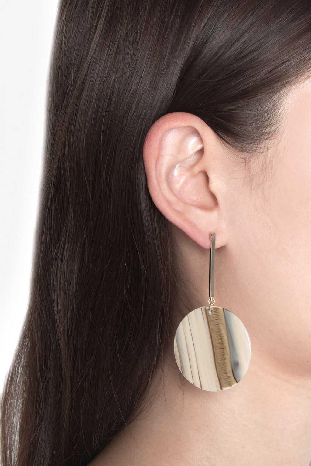 Earring H112 Gold 2