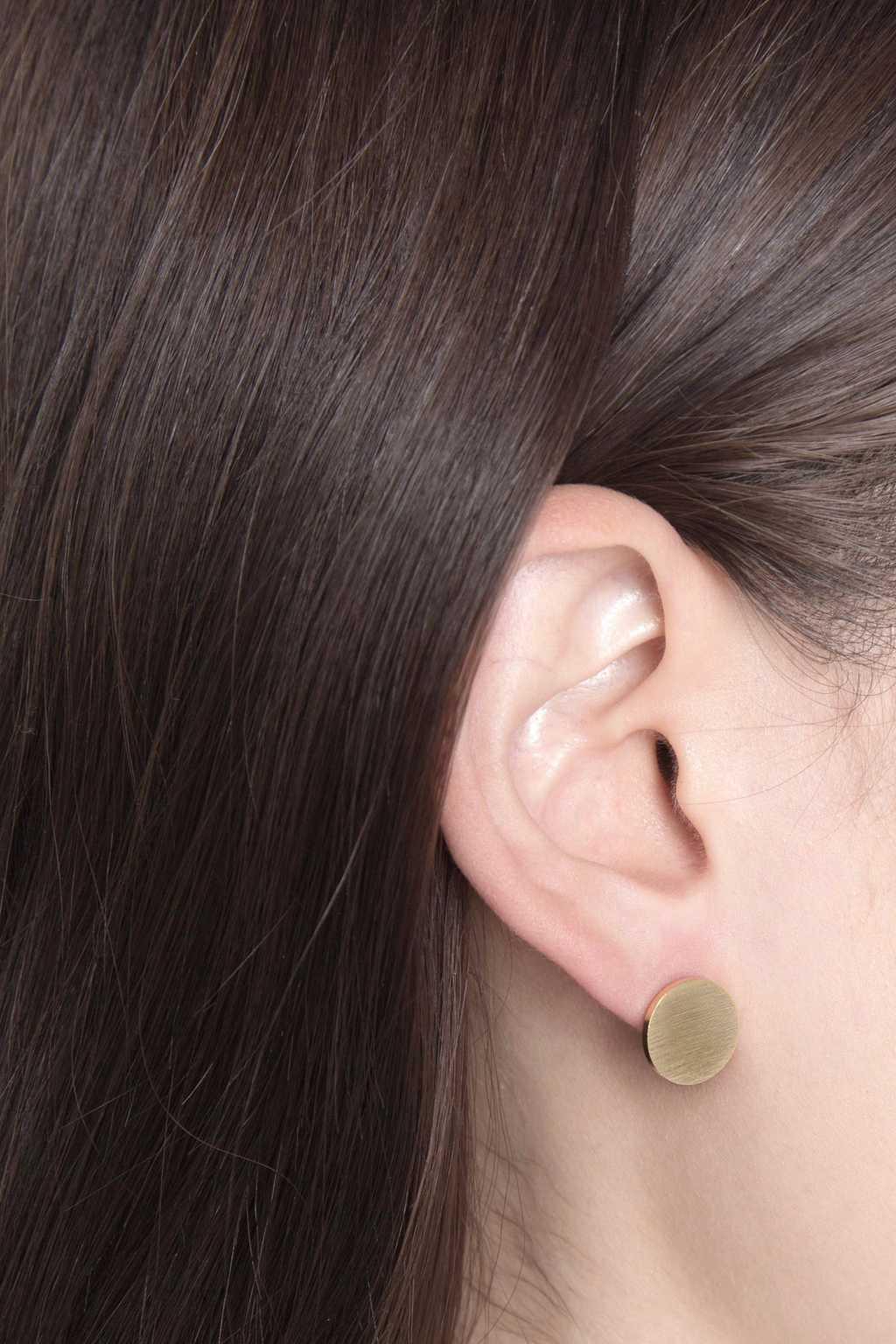 Earring H115 Gold 3