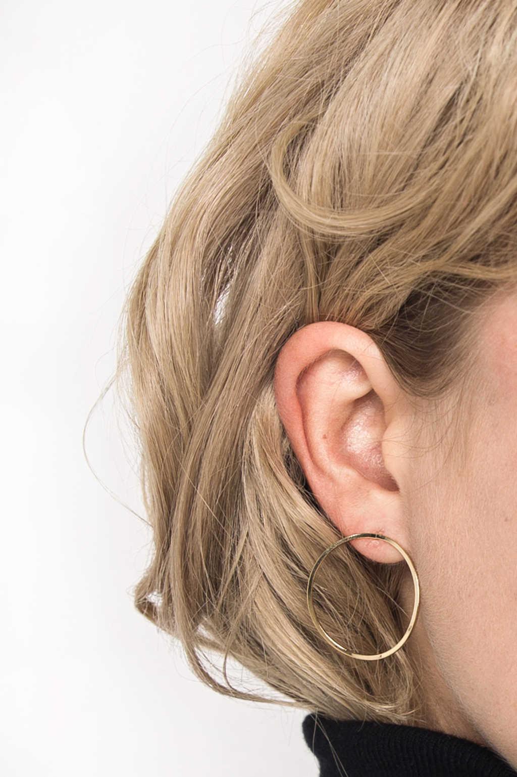 Earring H150 Gold 2