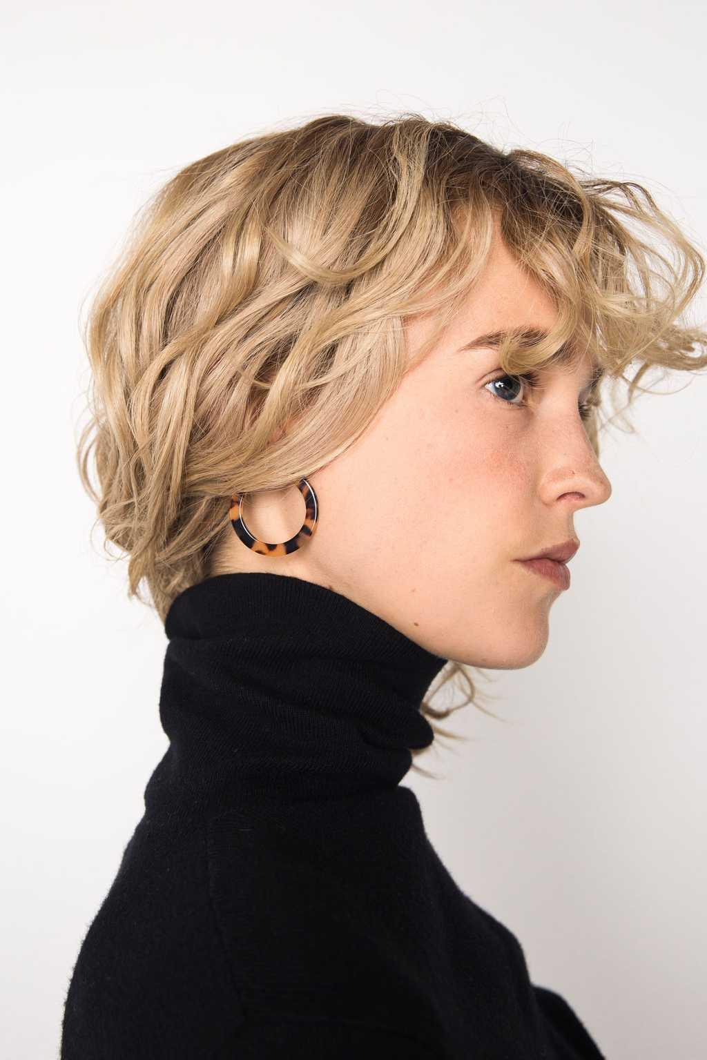 Earring H170 Brown 3