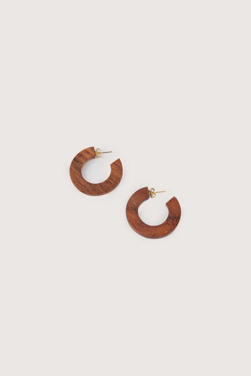 Earring H212 Brown 1