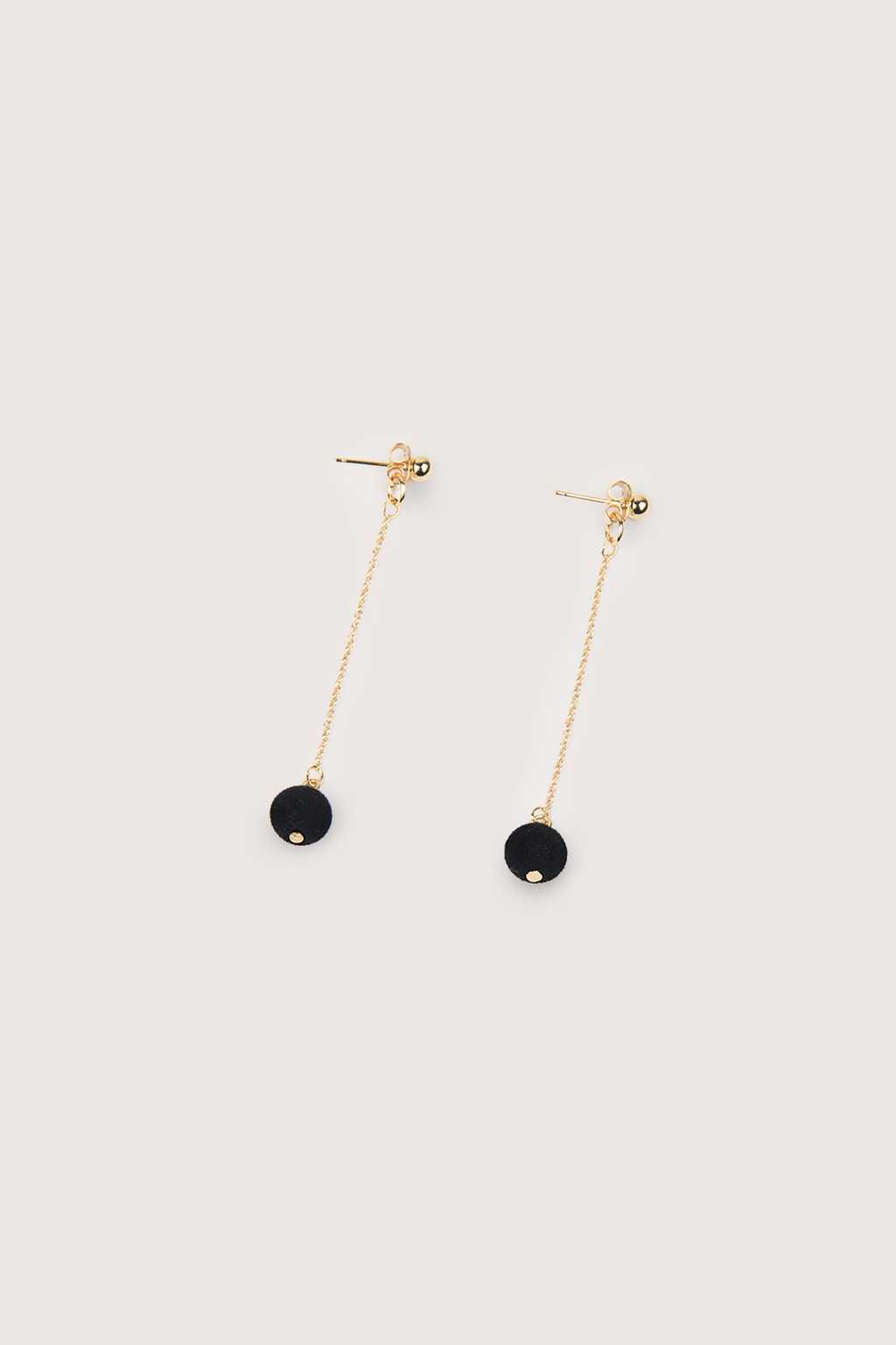 Earring H230 Black 1