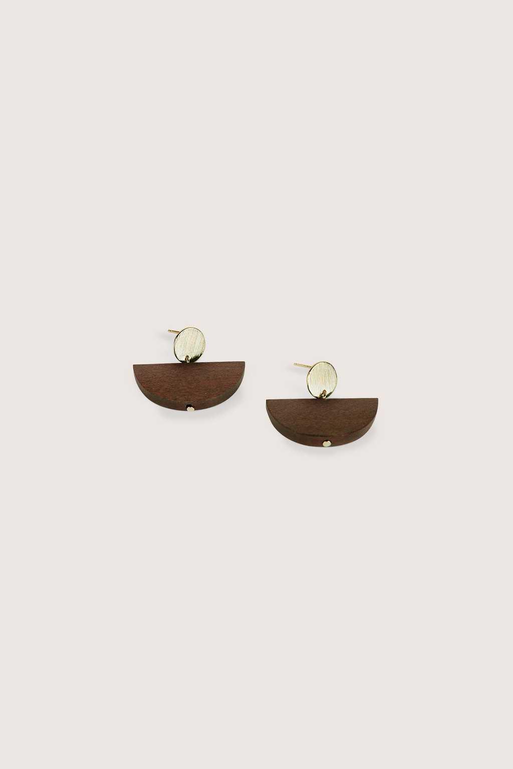 Earring H234 Brown 1