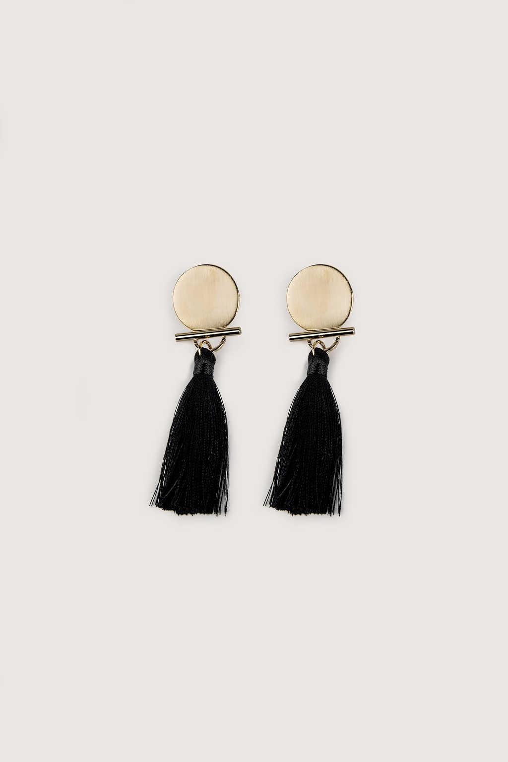 Earring H235 Black 1
