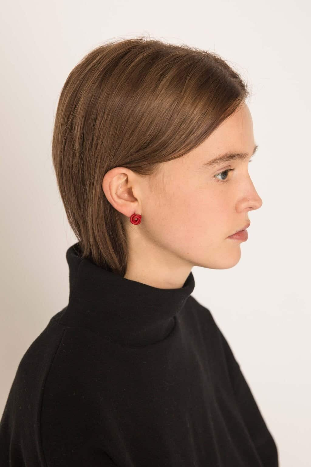 Earring H240 Red 2