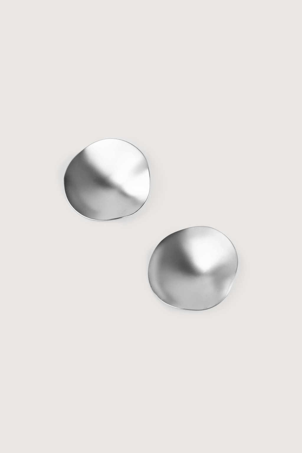 Earring H243 Silver 2