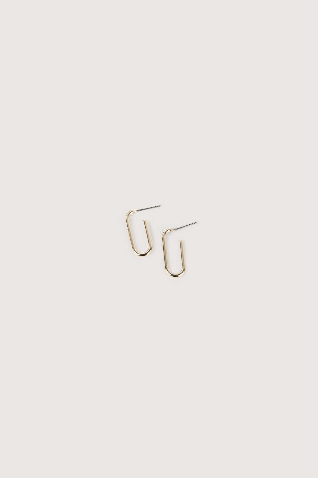 Earring H244 Gold 1